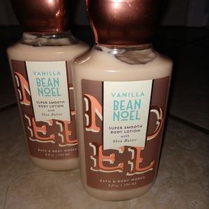 Bath & Body Works Vanilla Bean Noel Lotion x 2